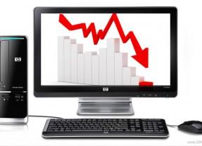 Sprzedaż komputerów nadal będzie spadać.